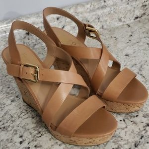 Franco Sarto Stallion Wedge Sandals